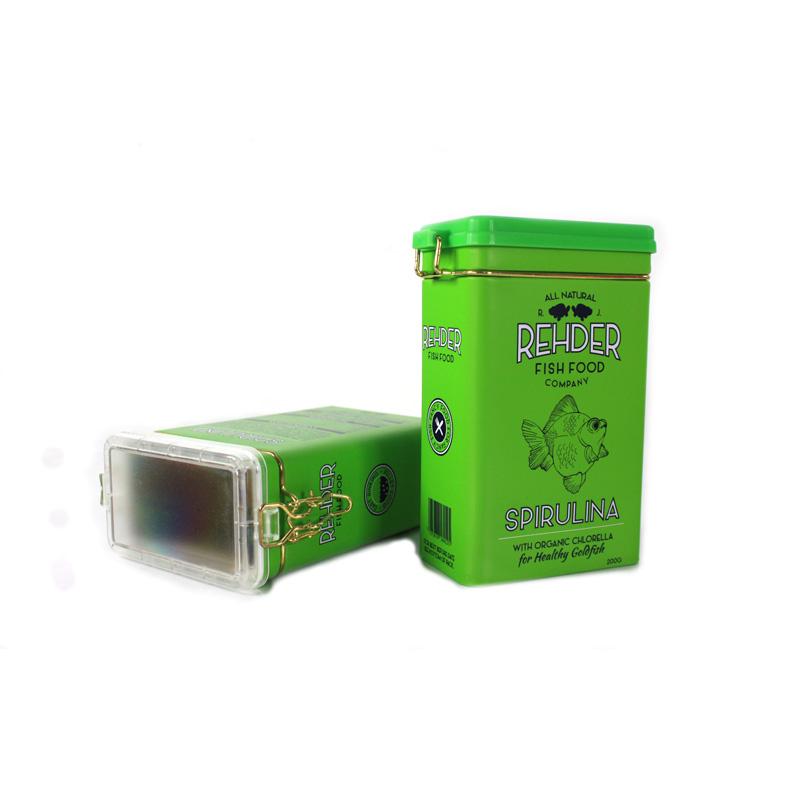 珠三角工厂定制生产高档灵芝马口铁盒