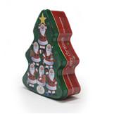 圣诞巧克力铁盒定制厂家