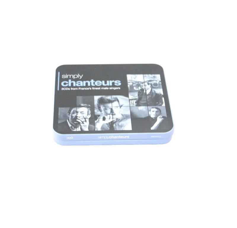 高档CD金属包装铁盒制罐工厂  光碟CD包装盒