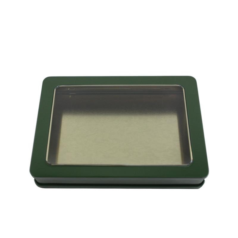 开天窗茶叶马口铁包装盒定制生产工厂