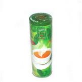 创意定制有机茶叶圆形铁罐生产厂家