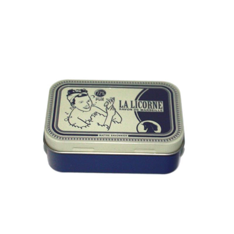 精美带凸印手工皂包装铁盒加工工厂