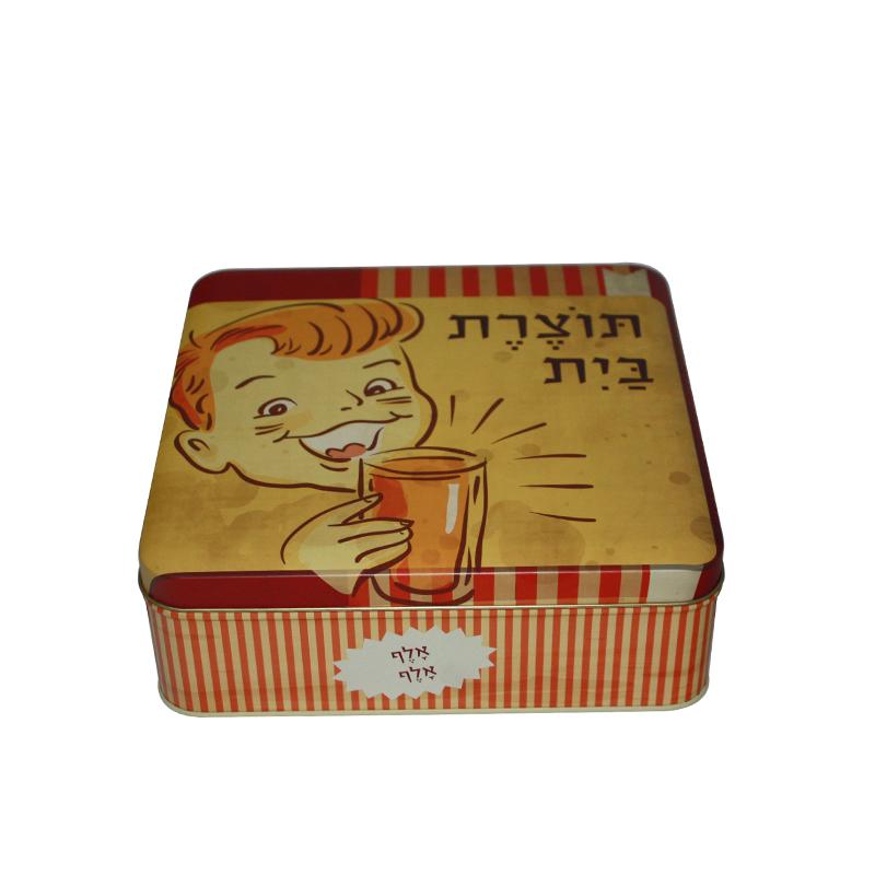 厂家定制生产方形饼干马口铁盒