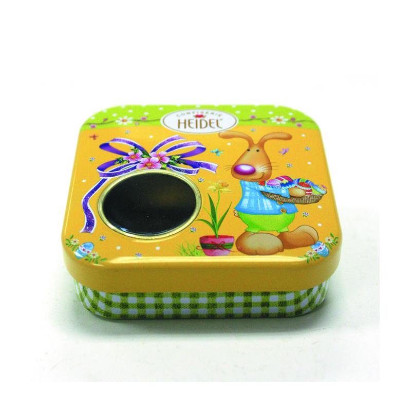 厂家生产定做口香糖马口铁包装铁盒