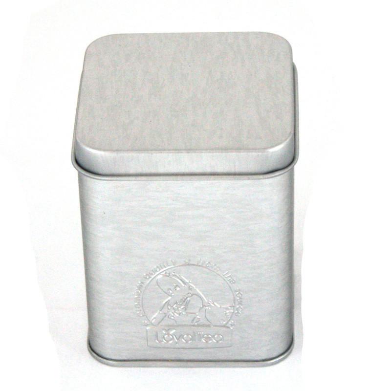 正方形螺旋藻马口铁罐定制厂