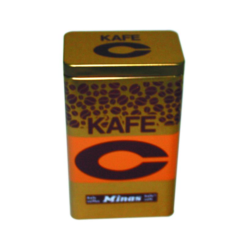 长方形马口铁咖啡包装盒生产定做工厂