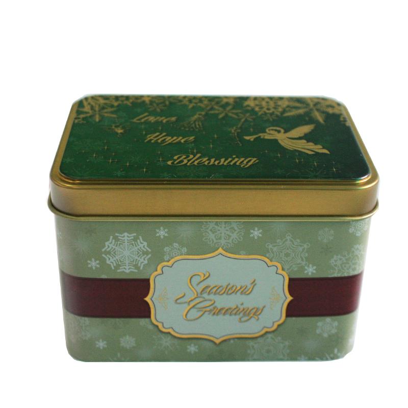 厂家生产制作方形马口铁盒糖果包装铁盒