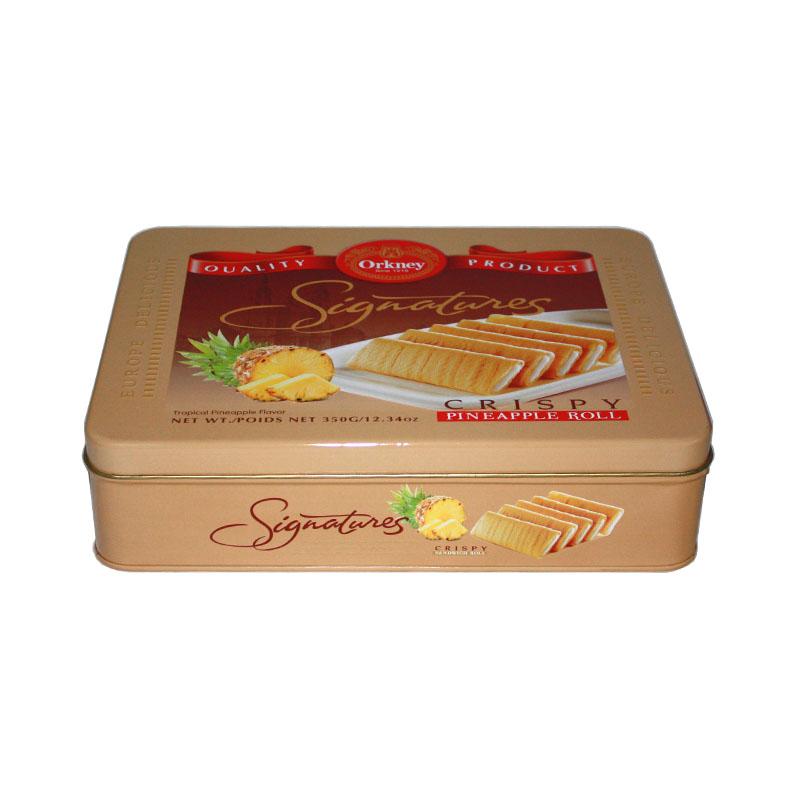 长方形饼干马口铁盒定做生产工厂