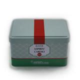 方形翻盖式茶叶马口铁罐制罐厂