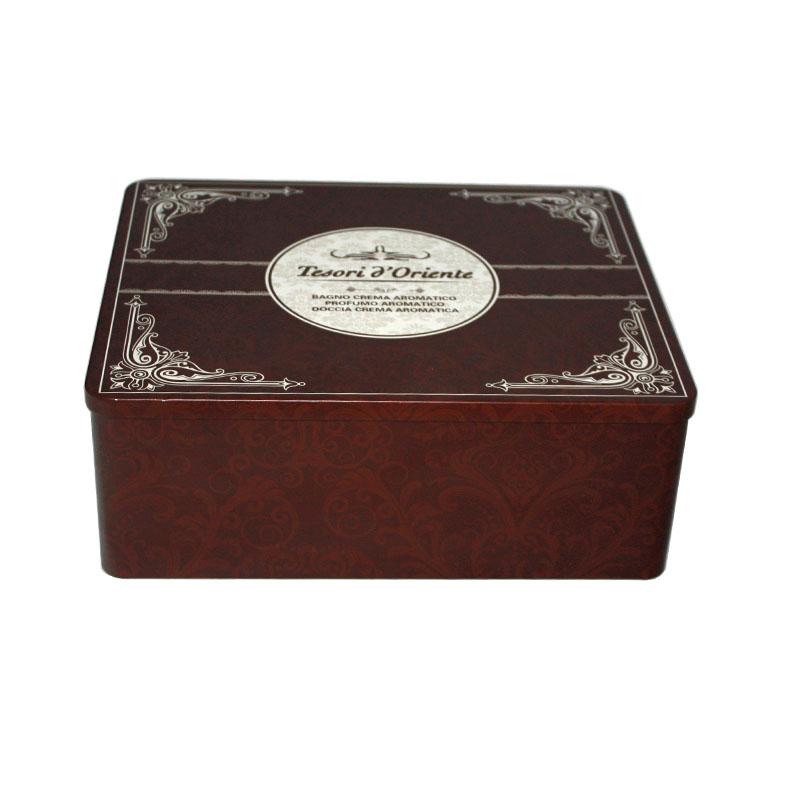 厂家生产高档方形燕窝马口铁盒