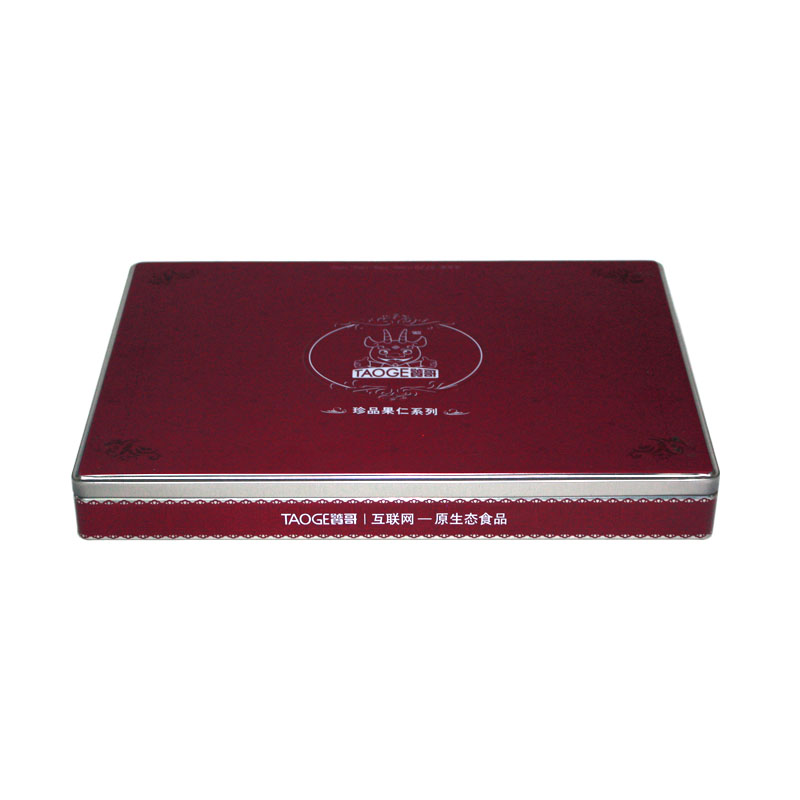 厂家生产精致长方形阿胶马口铁盒