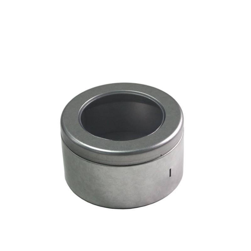 开窗圆形茶叶马口铁罐制罐工厂
