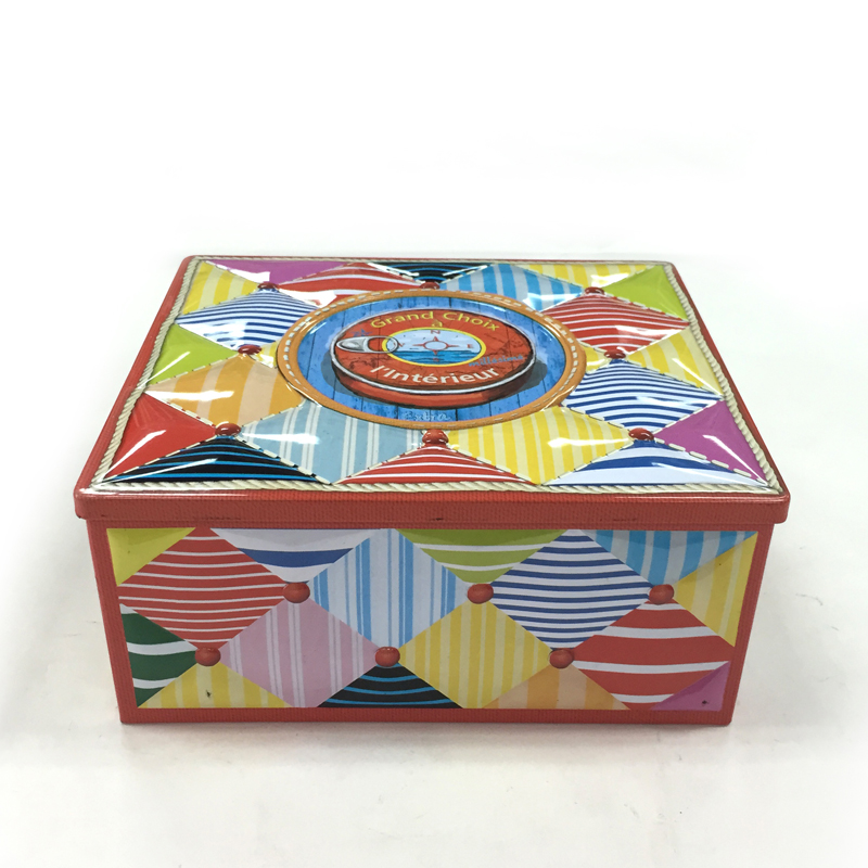 工厂生产定做长方形糖果马口铁盒