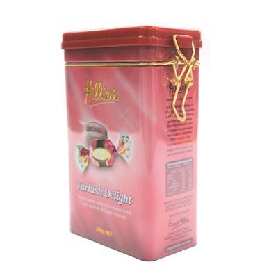东莞制罐厂家定制密气巧克力糖果礼品铁罐