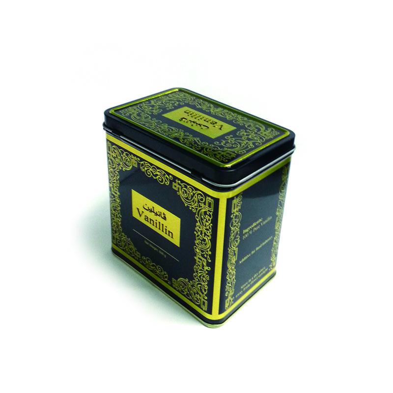 厂家生产长方形咖啡包装马口铁盒