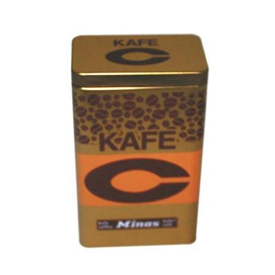 方形马口铁咖啡豆礼品包装盒