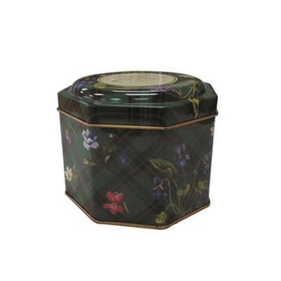 厂家定制正八角形美容养颜花茶礼品铁罐