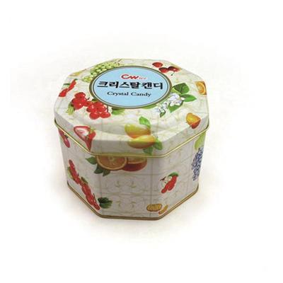 东莞厂家定做礼品八角铁盒包装