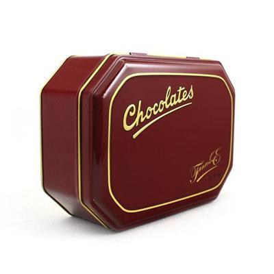 东莞铁盒厂家定制出口品质巧克力包装礼盒