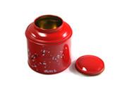 铁罐定制马口铁缩小口花茶茶叶复合铁罐