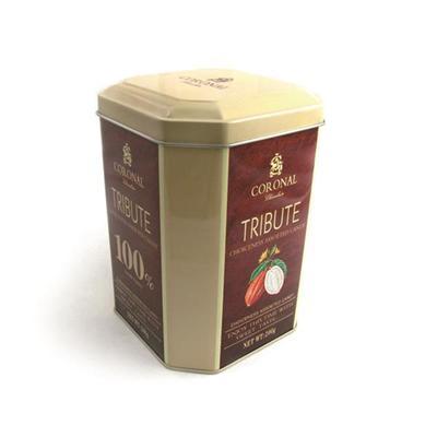 厂家定制八边形坚果包装马口铁礼品罐