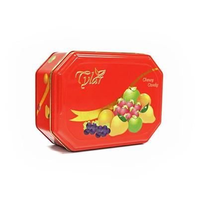 制罐厂家定制进口水果糖包装礼品铁罐