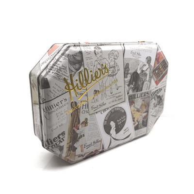 铁盒厂家定制八角形土特产包装礼品铁盒