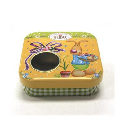 广州厂家定制复活节迷你糖果包装开窗盒子