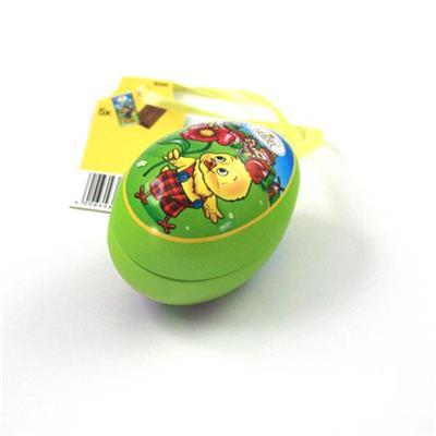 厂家定制复活节马口铁小鸡蛋罐