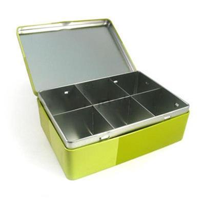 东莞厂家定制马口铁食品内格包装复合铁盒