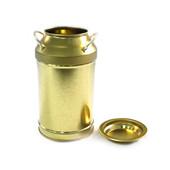 牛奶罐造型存钱铁罐定制