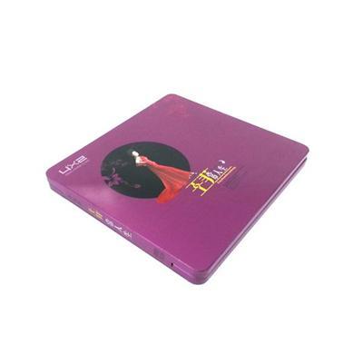 明星唱片铁盒包装 王菲歌集唱片CD包装铁盒