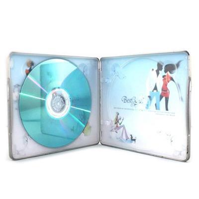 制罐厂定制婚礼记录CD包装铁盒