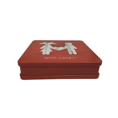马口铁婚纱照记录光盘盒生产厂家
