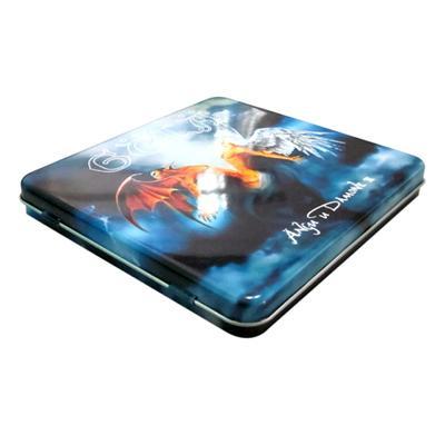 单碟装游戏铁盒|两片游戏碟片包装铁盒