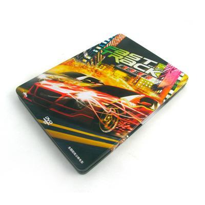 网络赛车游戏光碟DVD马口铁包装盒定制