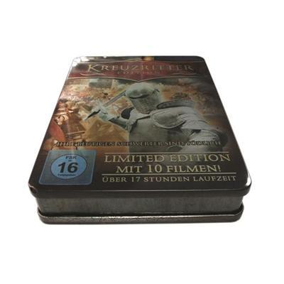魂斗罗系列游戏专用光碟包装铁盒生产商 定制游戏DVD光碟马口铁包装盒