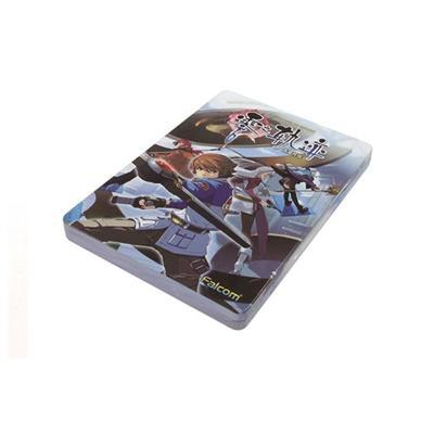 少年卡通游戏光碟包装铁盒 DVD游戏光盘铁盒