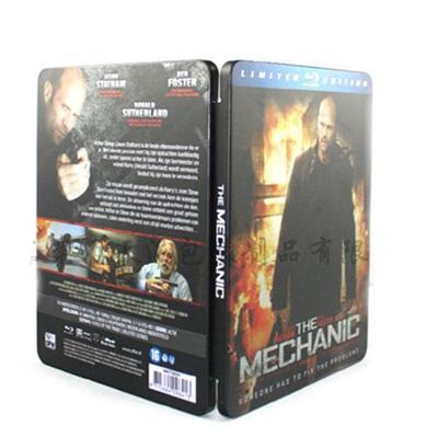 好莱坞警匪电影正版蓝光铁盒 电影蓝光DVD铁盒