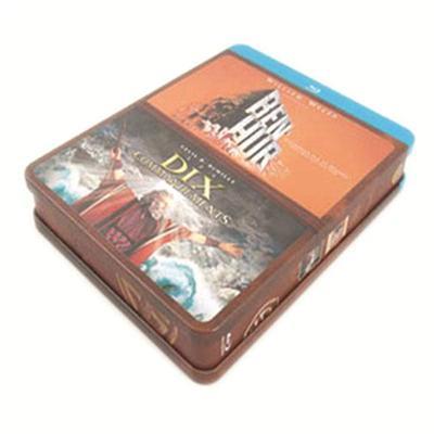 多碟装蓝光铁盒 电影光盘蓝光DVD铁盒