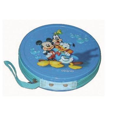 儿童卡通动漫光碟拉链式收纳盒