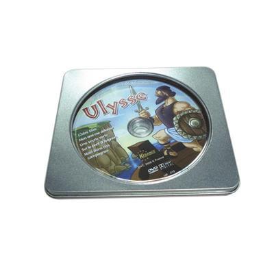 方形开窗安装软件光盘铁盒