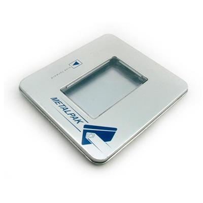 长方形开方窗软件CD盒包装