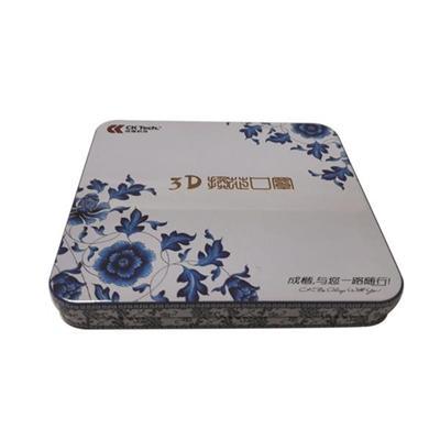 3D绘图学习软件光盘铁盒 CD光碟铁盒