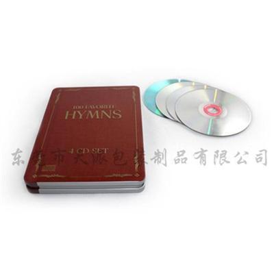 高年级学习软件光盘包装铁盒