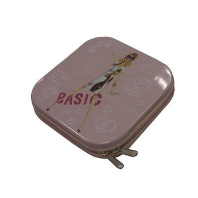 经典舞曲学习光盘拉链铁盒 光碟包装铁盒