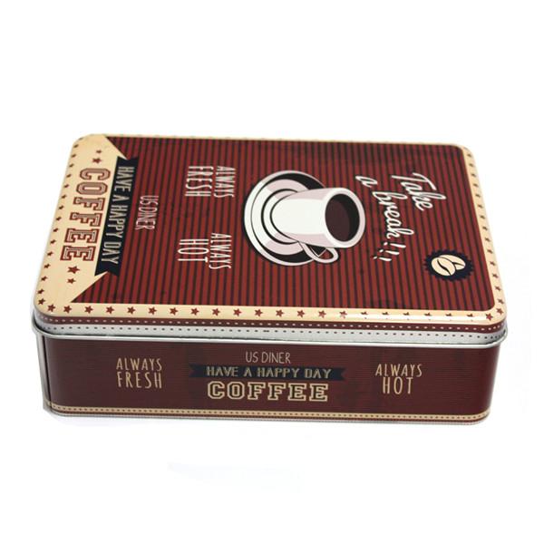 高档咖啡马口铁盒定做生产工厂