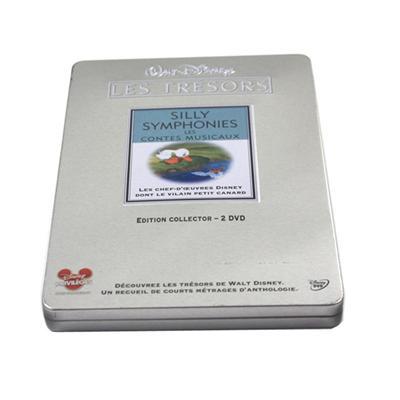 唐老鸭系列光碟包装铁盒生产厂家