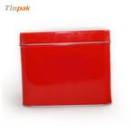 红色马口铁洗面奶铁盒定制厂家