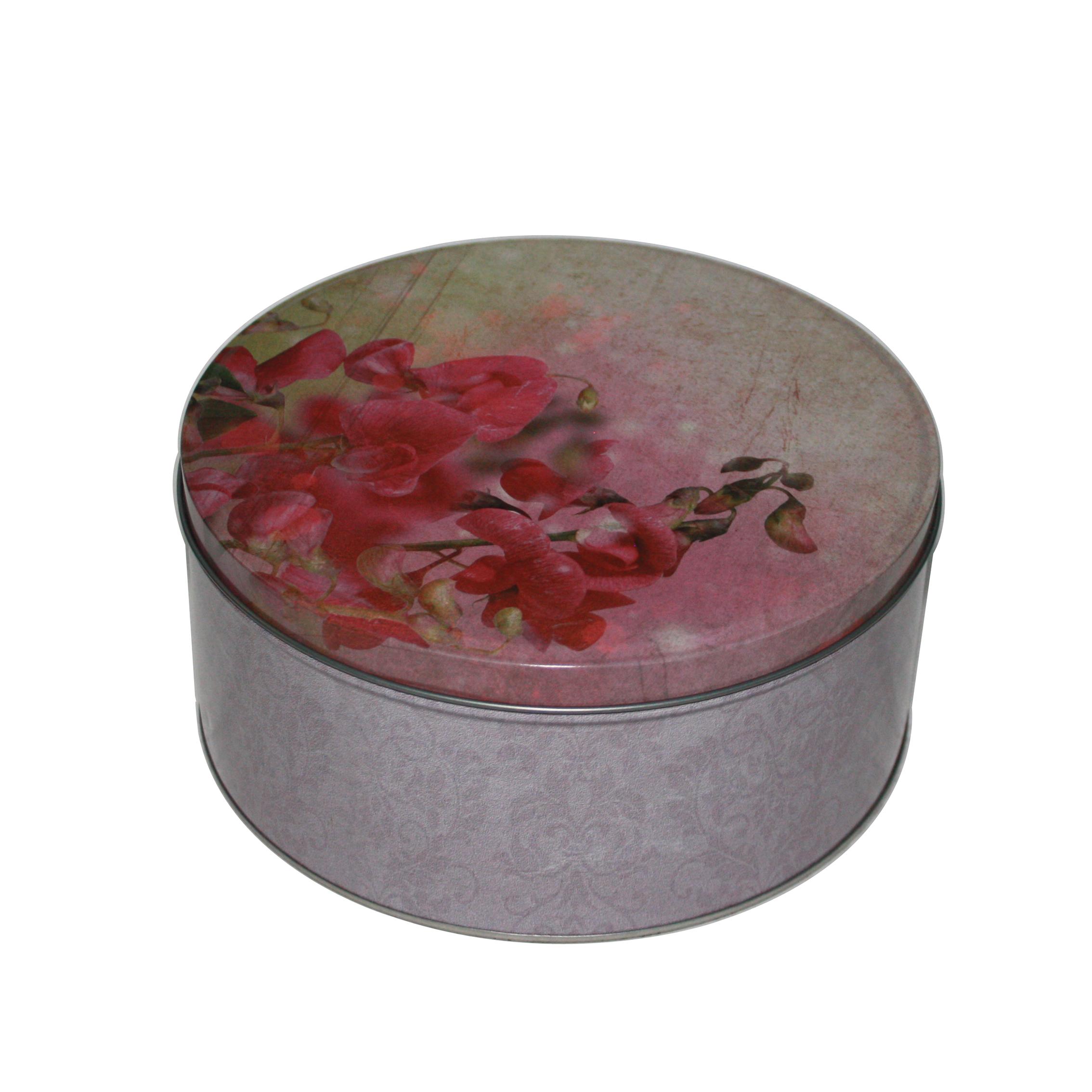 圆形大米铁盒生产定做工厂